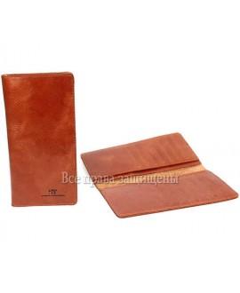 Винтажный купюрник мужской кожаный KS-014SIENNA