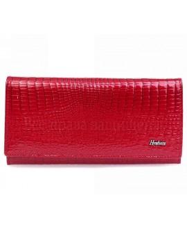 Горизонтальный кошелек женский кожаный AE1518 RED