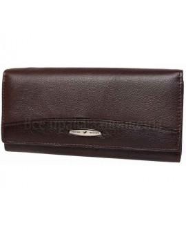 Женский кошелек   кожаный  Tailian T826 PUCE women темно- коричневый