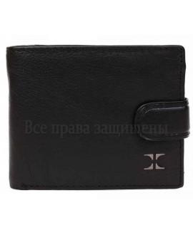 Стильный мужской кожаный бумажник портмоне в категории кошельки оптом Харьков PJ5005BLACK