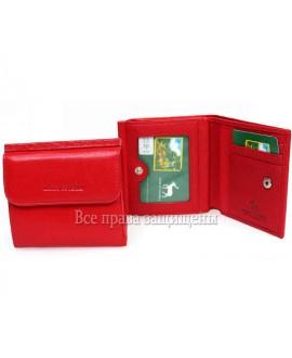 Портмоне- кошелёк женский из натуральной кожи красный Marco Coverna MC-213B-2 RED