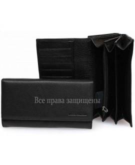 Marco Coverna кошельки с отделением для карточек черные MC-2060-1