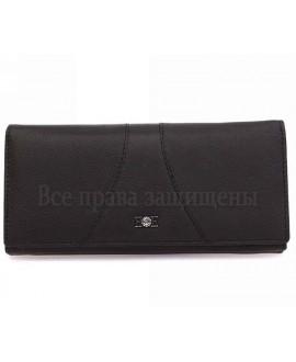 Женский кошелек из матовой черной кожи B150-21 BLACK
