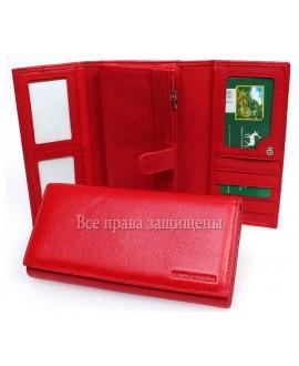 Стильный красный кошелек Marco Coverna MC-604-2 RED