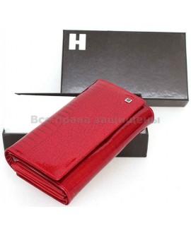 Женский кошелек из натуральной кожи (H-AE46 RED)