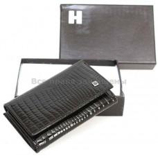 Женский кошелек из натуральной кожи (H-AE214 BLACK)