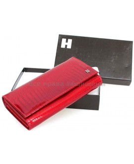 Красный женский кошелек из натуральной кожи (H-AE304 RED)
