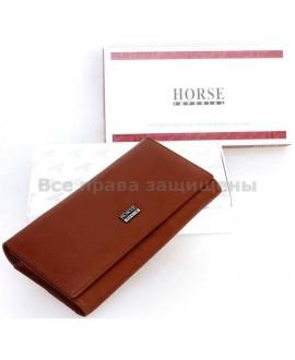 Женский кошелек из натуральной кожи Horse Imperial (IH-A0001 COFFEE)