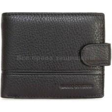 Мужской кошелек из натуральной кожи (MC-1003F BLACK)