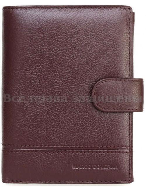 Вертикальный кошелек из натуральной кожи (MC-N1-1004 COFFEE)