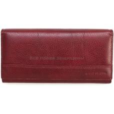 Женский кошелек из натуральной кожи (MC-N-3-604 RED WINE)