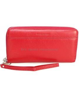 Женский кошелек из натуральной кожи Marco Coverna (MC-N3-801 RED)