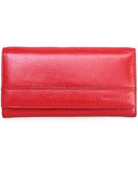 Красный женский кошелек из натуральной кожи Marco Coverna (MC-N3-1013  RED)