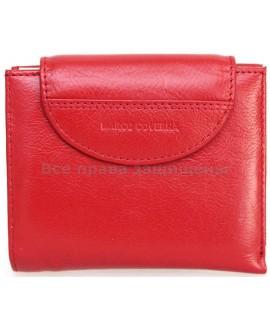 Элегантный кошелек из натуральной кожи Marco Coverna (MC-N3-2047 RED)
