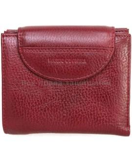 Бордовый кошелек из натуральной кожи (MC-N3-2047 RED WINE)
