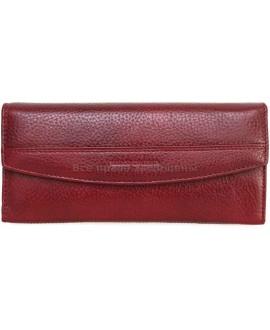 Женский кошелек из натуральной кожи Marco Coverno (MC-N3-8245 RED WINE)