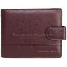 Мужской кошелек из натуральной кожи Marco Coverna (MC-N-135 COFFEE)