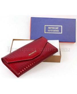 Красный женский кошелек из натуральной кожи (bc-ae-035-red)