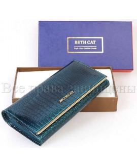 Голубой кошелек из натуральной кожи купить оптом  (bc-m10-150-light blue)