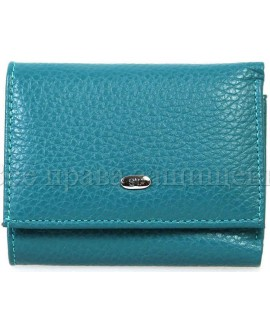 Стильный голубой кошелек Sergio Torretti (st440-light-blue)
