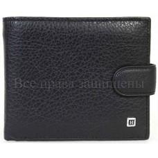 Стильный мужской кошелек из натуральной кожи купить оптом дешево Horton H110 (H138BLACK)