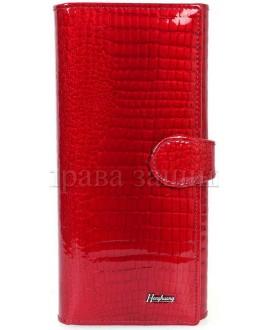Добротный женский кошелек из натуральной кожи купить оптом (HG-AE031-1 RED)