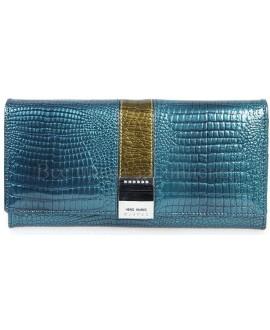 Синий женский кошелек купить оптом (HG-AE207-1-BLUE)
