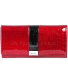 Красный женский кошелек из натуральной кожи купить оптом (HG-AE207-1-RED)