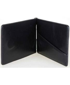 Классический кошелек-зажим черного цвета