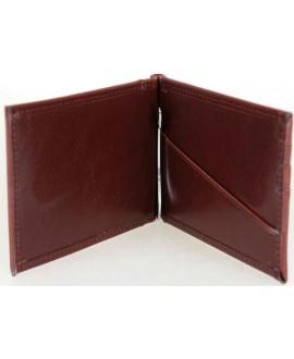 Кошелек-зажим для денег с отделением под документы