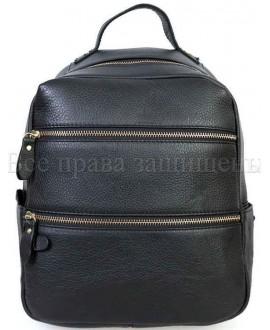 Недорогой рюкзак черного цвета SK-Leather SKMBP-05-Black