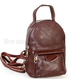 Коричневий женский рюкзак SK-Leather SKMBP-01-Brown