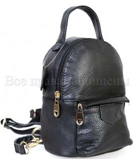 Черный рюкзак SK-Leather SKMBP-01-Black