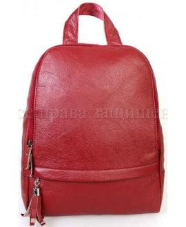 Кожаный рюкзак SK-Leather SKMBP-03-Red
