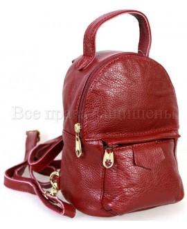 Красный красивий рюкзак SK-Leather SKMBP-01-Red