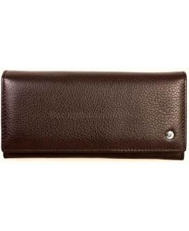 Красивый кошелек цвета кофе Salfeite A-M501COFEE