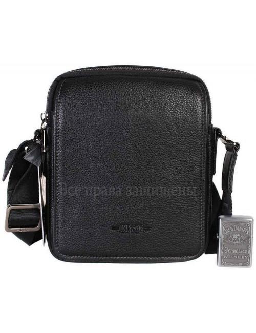 Мужская кожаная сумка черного цвета HT-407-29-opt в категории сумки оптом Киев