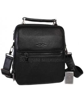 Повседневная кожаная мужская сумка на плечевом ремне и на магните HT-9027-5-opt в категории сумки оптом Украина