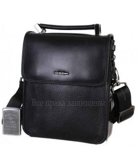 Престижная мужская сумка из натуральной кожи с ручкой и ремнем через плечо HT-9203-6-opt в категории купить мужские сумки оптом Одесса