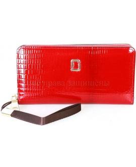 Клатч женский красного цвета H. Verde AE-ECO-HV-01RED