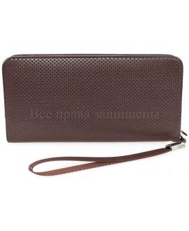 Клатч цвета шоколада NAVI-BAGS NV-246-black-cofee