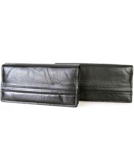 Красивый кошелек черного цвета SWAN SG3L-2