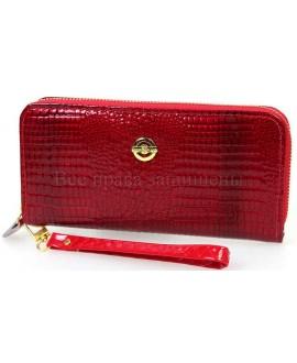 Клатч женский красного цвета Shen-duo eco-38-2-red