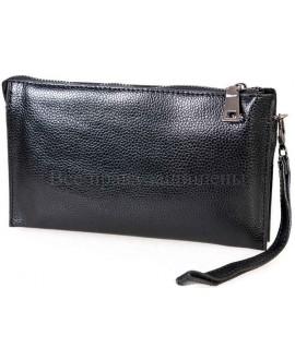 Черный клатч из эко кожи турецкого производства NAVI-BAGS NV-С168FL-black
