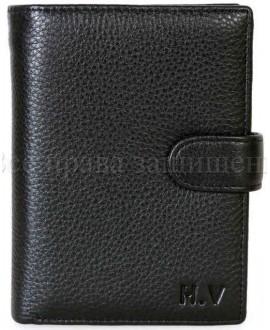 Стильный мужской бумажник H. Verde 302HV