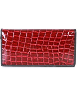 Кожаный кошелек красного цвета SWAN-AE205-1RED