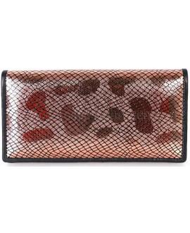 Красивый кошелек для женщины коричневого цвета SWAN-W205-3