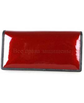 Стильный  кожаный кошелек красного цвета SWAN-W205-4