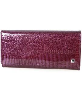 Классический кожаный кошелёк H-AE501-dark-purrple
