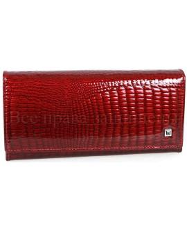 Женский кожаный кошелёк H-AE150-jujube-red